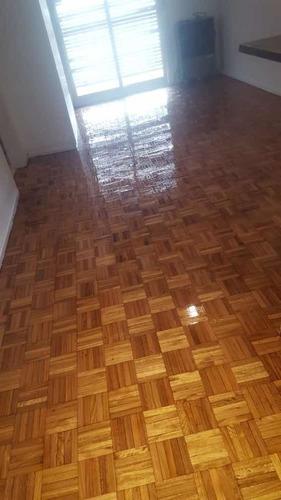 pulido, plastificado e hidrolaqueado de pisos parquet