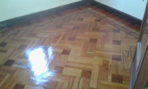 pulido, plastificado e hidrolaqueado de pisos, restauracion