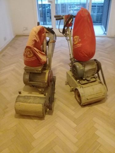 pulido plastificado e hidrolaqueado/repación de piso parquet