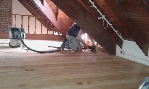 pulido plastificado hidrolaqueado piso parquet madera repara