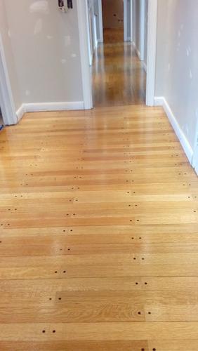 pulido plastificado hidrolaqueado pisos de madera decks
