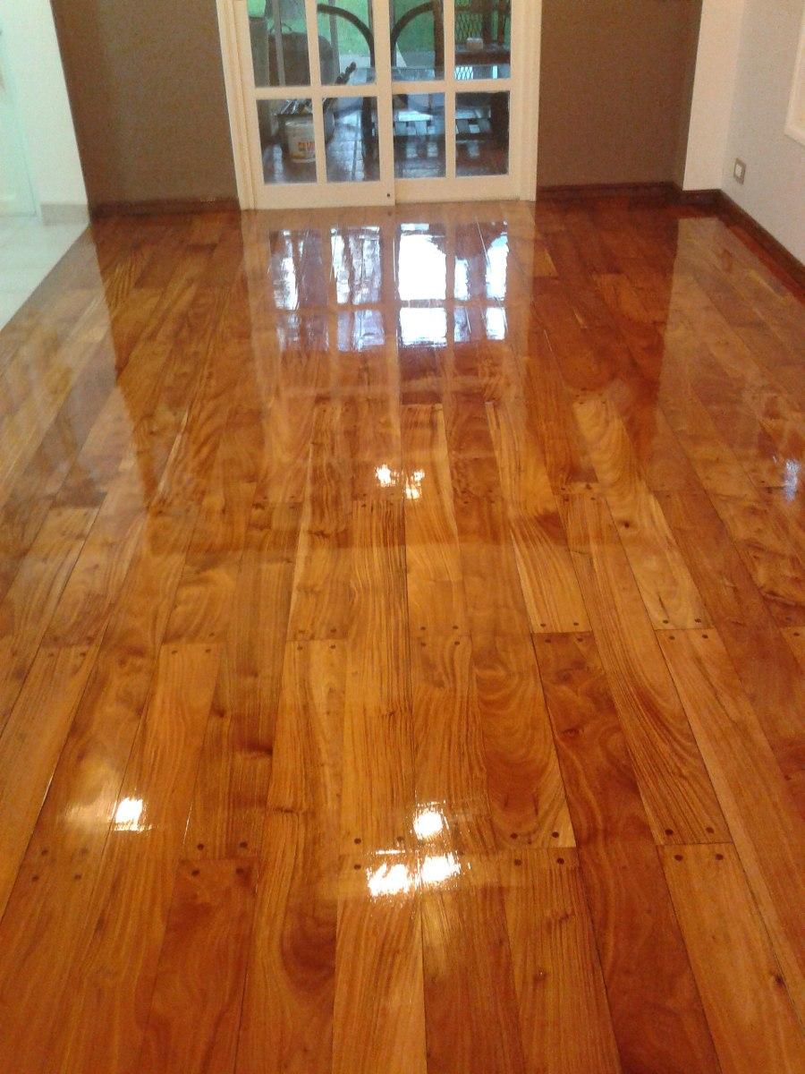 Pulido plastificado y hidrolaquedo en pisos de madera - Alquiler de pisos en calahorra ...