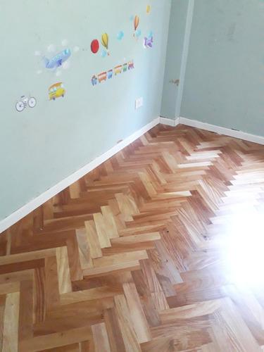 pulido, plastificado pisos