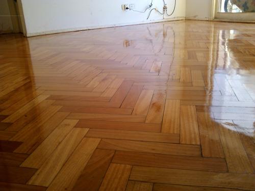pulido plastificado pisos madera p/exigentes/reparaciones