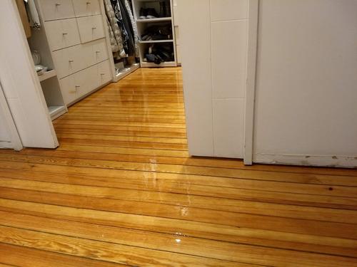 pulido plastificado y reparacion de pisos de madera!