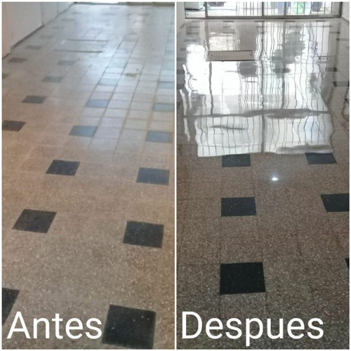 pulido y cristalizado de piso monolitico