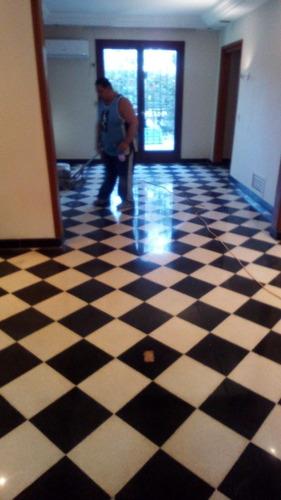 pulido y cristalizado de pisos monolíticos