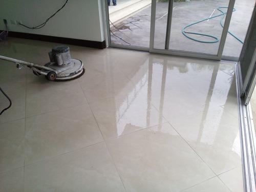 pulido y lavado de todo tipo de piso