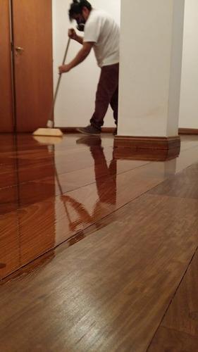 pulido y plastificado d parquet ,hidrolaqueado $249xm2 pisos