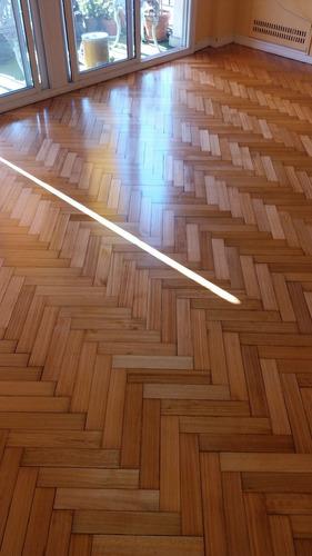 pulido y plastificado de madera pogonza