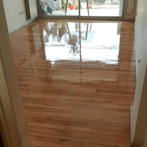 pulido y plastificado de pisos madera parquet hidrolaqueado