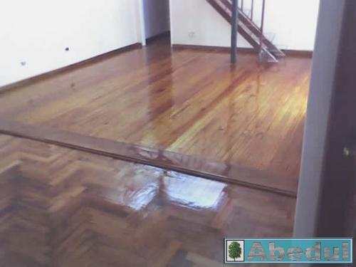 pulido y plastificado-hidrolaqueado de pisos de madera