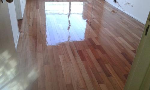 pulido y plastificado hidrolaqueado de pisos parquet