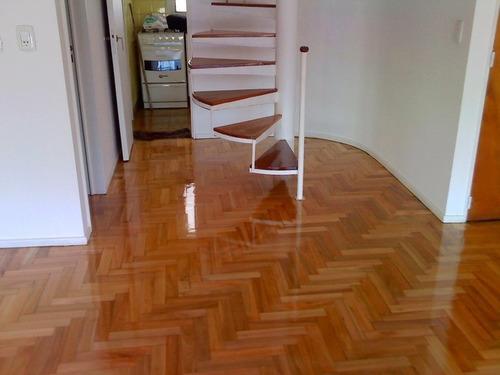 pulido y plastificado hidrolaqueado pisos  parquet pinotea