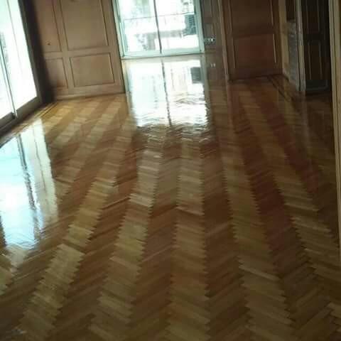 pulido y plastificado.pisos parquet  y mosaico   .