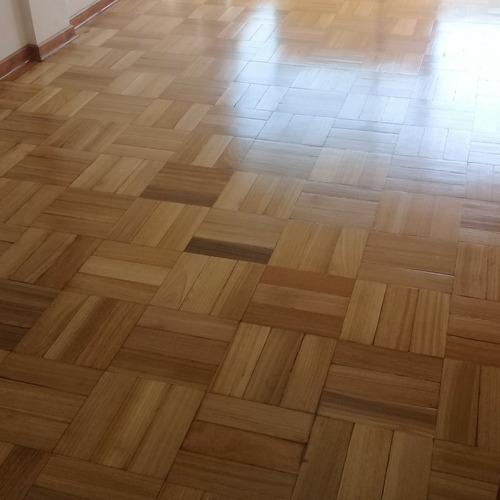 pulido y vitrificado de pisos de madera y parquet
