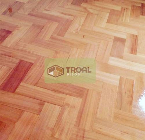 pulido y vitrificado de pisos de madera y parquet.