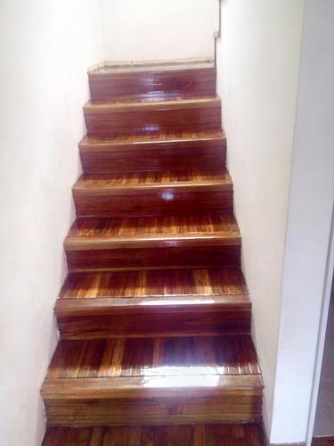 pulido,plastificados,hidrolaqueados, pisos parquet, 0 polvo