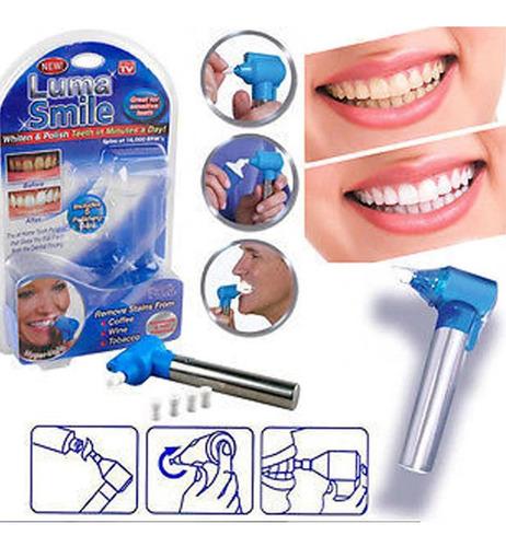 pulidor blanqueador dental, dientes blancos, 4 repuestos
