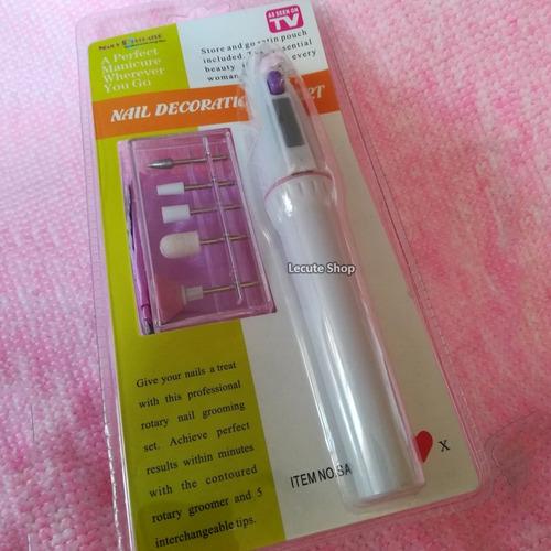 pulidor de uñas acrilico gel decoracion portatil baterias ar