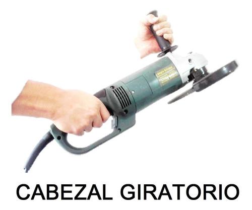 pulidora 9 pulgadas industrial 220 vatios 6000 rpm