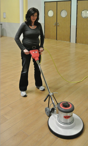 pulidora de pisos industrial bailarina abrillantadora de acero con porta pad de 50 kilos para lavado y pulido de pisos