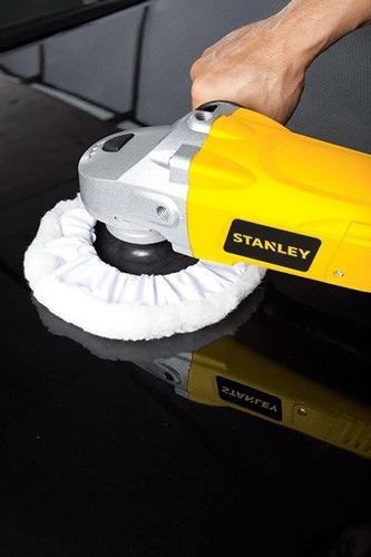 pulidora lijadora stanley stgp1318k 1300w 7  180mm c/maletin