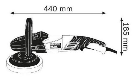 pulidora lustradora bosch gpo14 ce ø180m 1400w