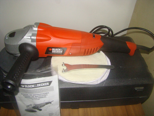pulidora manual black&decker 7