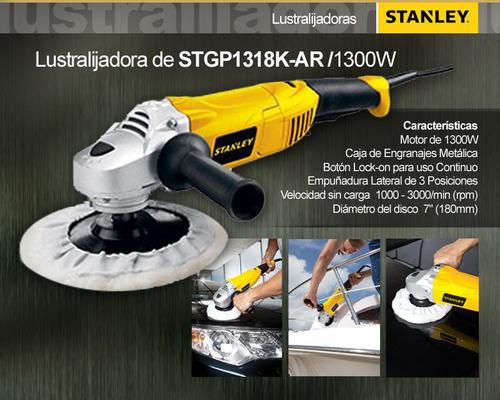 pulidora para autos stanley 7   prof stgp1318k 1300w