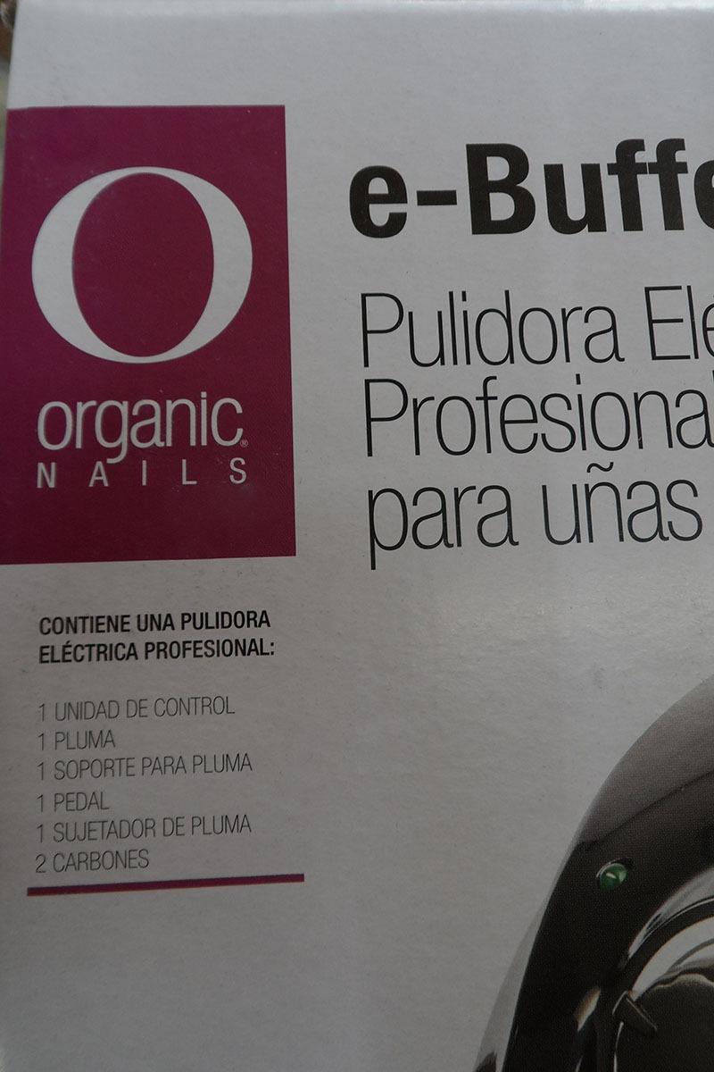 Pulidora / Taladro Electrica Profesional Uñas Organic X Slim ...