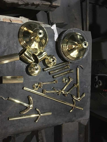 pulidos de metales y niquelado ( no cromados)
