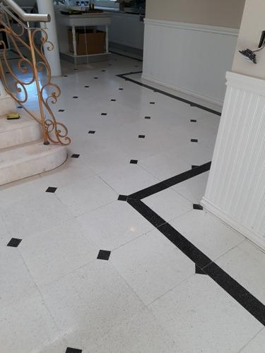 pulidos de pisos mosaicos graniticos, marmol y parquet.