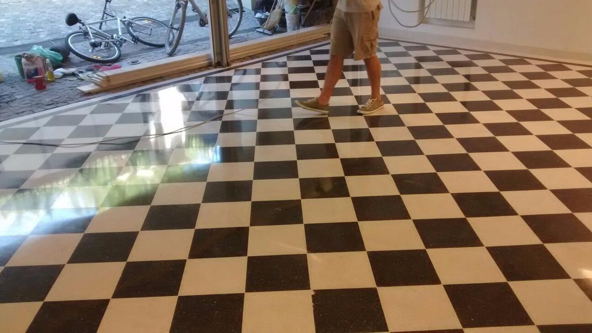 Pulidos de pisos mosaicos marmol calc reo y granito for Mosaico para piso