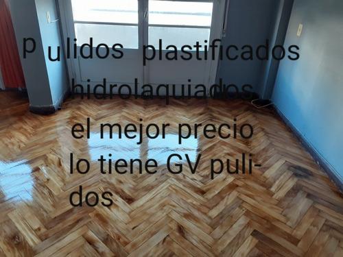 pulidos  hidrolaquiados plastificados de parquet empresa gv