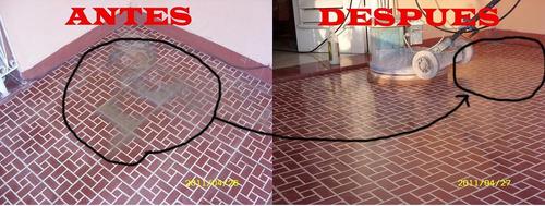 pulir pisos.....sin  polvo, ingeniero rafael ortiz.