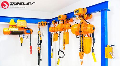 puller de palanca de cadena 750,1.5,3,6 ton con 1.5 mtrs