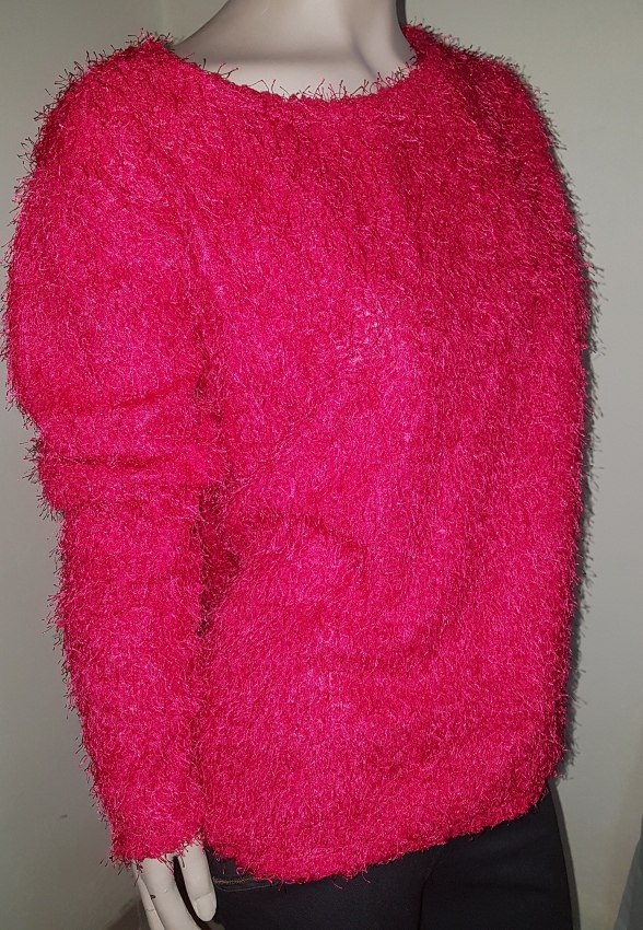 codice promozionale 7ec39 88e65 Pullover Sweater Pelo De Mono Mujer Fucsia Invierno Rosa
