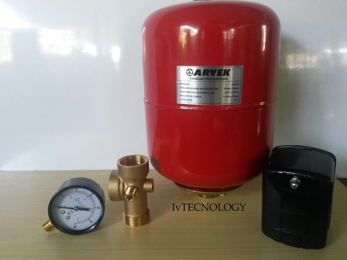 pulmon o tanque para bomba de agua hidroneumatico 5 litros