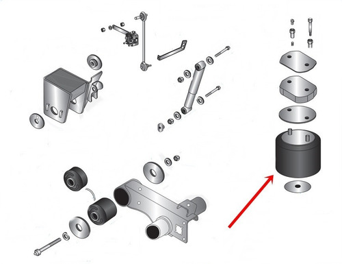 pulmon suspension trailer hendrickson / watson (el par)