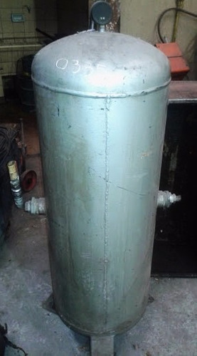 pulmon vertical tanque grande para compresor de aire