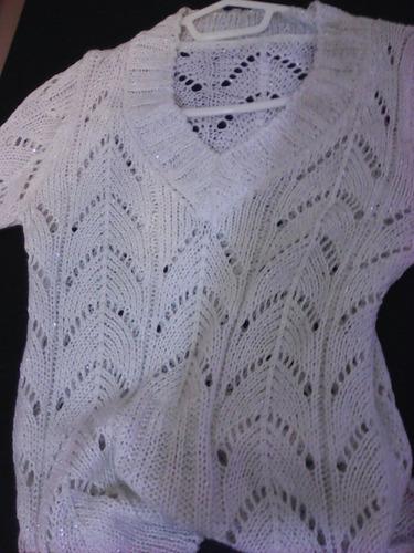 pulover tejido