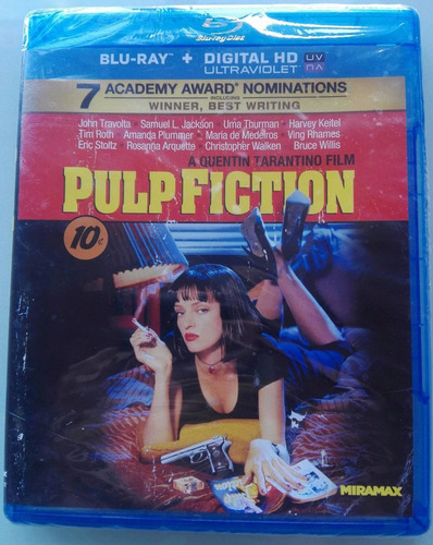 pulp fiction  blu-ray d