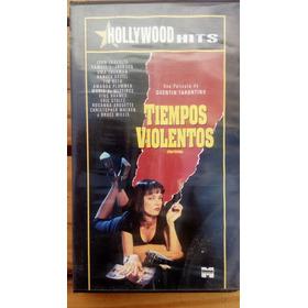 Pulp Fiction/ Tiempos Violentos - Tarantino - Vhs- Colección