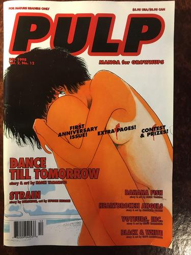 pulp, revista manga en ingles, 1998, 140 pag