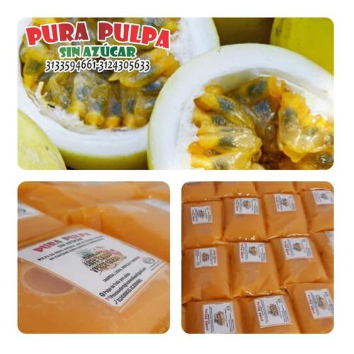 pulpa de fruta 100% natural