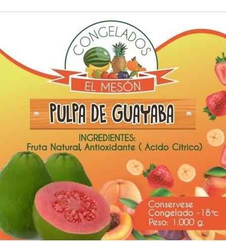 pulpa de fruta guayaba - kg a $85 - kg a - kg a $8