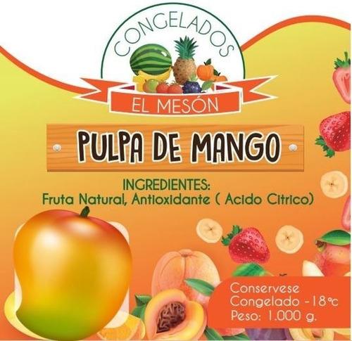 pulpa de fruta mango- kg a $85 - kg a $4 - kg a $8