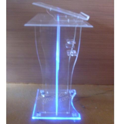 púlpito de acrílico simples e clássico direto da fábrica