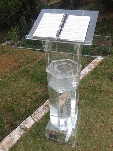pulpito para igreja modelo agua viva